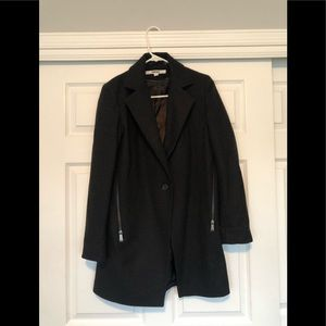 DKNY wool Zipper Blazer Coat